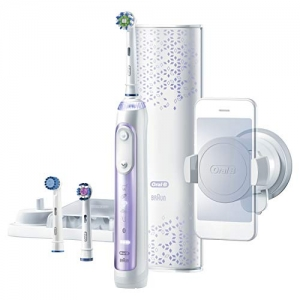 ihocon: Oral-B 8000 Electronic Toothbrush, Orchid Purple, Powered by Braun電動牙刷