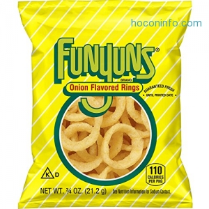 ihocon: Funyuns Onion Flavored Rings, .75 Ounce (Pack of 40)