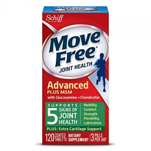 Move Free Advanced Plus MSM, 120粒 $11.43免運(原價$17.29, 34% Off)