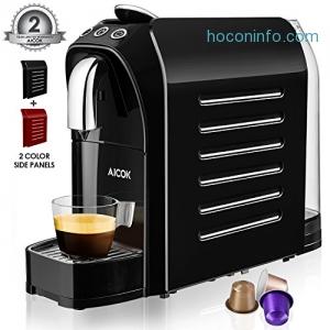 ihocon: Aicok Espresso Machine for Nespresso Compatible Capsule 義式濃縮咖啡機