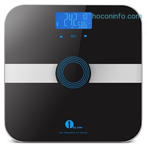ihocon: 1byone Body Fat Scale 體脂體重計