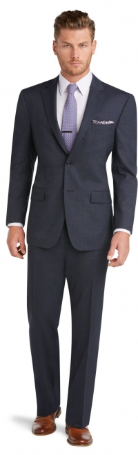 ihocon: Jos. A. Bank Men's Executive Collection Traditional Fit Suit with Pleated Front Pants男士西裝一套- 3色可選