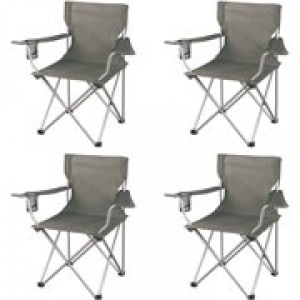 ihocon: Ozark Trail Regular Arm Chairs, Set of 4 休閒椅