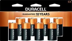 ihocon: Duracell - CopperTop C Alkaline Batteries 鹼性電池 8個