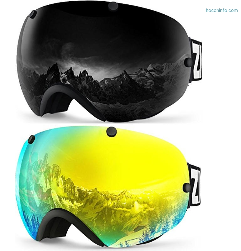 ihocon: ZIONOR XA Ski Goggles Anti-fog UV Protection划雪護目鏡