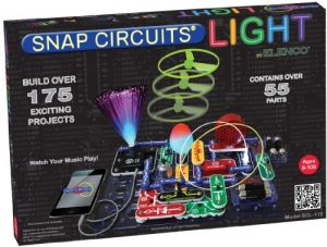 ihocon: Snap Circuits SCL-175 Lights Electronics Exploration Kit | Over 175 Exciting STEM Projects