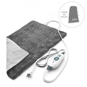 ihocon: PureRelief XL - King Size Heating Pad with Fast-Heating Technology, 6 Temperature Settings & Convenient Storage Bag 特大號加熱墊-6種溫度設置