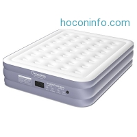 ihocon: WonderSleep Classic Series Air Mattress with DreamCoil Supporting Technology & Internal High Capacity Pump, Queen