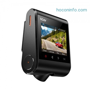 [Amazon今日特價 Roav by Anker Dash Cam C1, 1080P FHD Car Recorder with Sony Sensor行車記錄器  $50.99免運(原價$129.99, 61% Off)