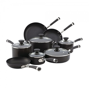 ihocon: Circulon Acclaim Hard-Anodized Nonstick 13-Piece Cookware Set不沾鍋組