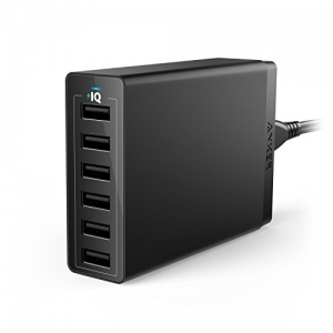 ihocon: Anker 60W 6 Port USB Wall Charger充電器