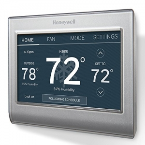 ihocon: Honeywell RTH9585WF1004/W Wi-Fi Smart Color Programmable Thermostat 霍尼韋爾95851004 /  -智能彩色可編程恆溫器