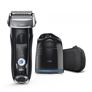ihocon: Braun Series 7 7880cc Men's Electric Razor w/ Clean & Charge System, Travel Case 男士乾濕兩用電動刮鬍刀含清潔系統及旅行包