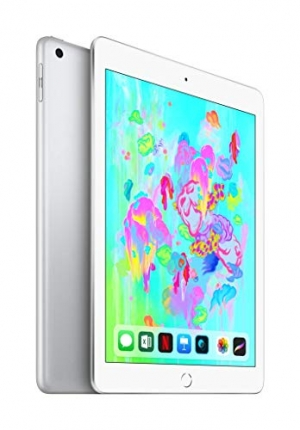 ihocon: Apple iPad (Wi-Fi, 128GB) - Silver (Latest Model)