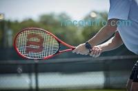 ihocon: Wilson Federer Adult Strung Tennis Racket