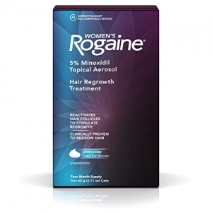 ihocon: Women's Rogaine 5% Minoxidil Foam for Hair Thinning and Loss, Topical Treatment for Women's Hair Regrowth, 4-Month Supply 女性泡沫生髮水4個月份