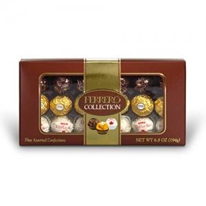 ihocon: Ferrero Collection Fine Assorted Chocolates, 18 Piece Gift Box, 6.8 oz  金莎巧克力