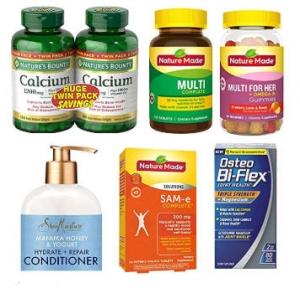 Amazon: 維他命, 保健品, 保養品, 清潔用品…買一送一