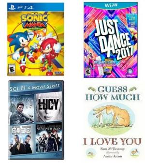 Target: 部分遊戲, 電影, 書籍, 玩具…等商品(共50頁) 買2送1