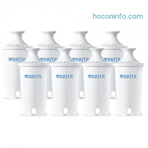 ihocon: Brita Replacement Filters Replacement Water Filters, 8ct 濾心