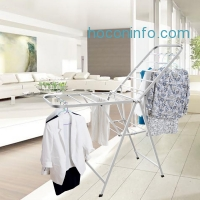 ihocon: Cyrola Laundry Drying rack collapsible Heavy Duty Stainless Steel晾衣架
