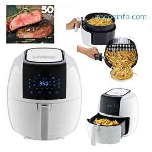 ihocon: GoWISE USA GW22735 5.8-Quarts 8-in-1 Electric Air Fryer XL + 50 Recipes for your Air Fryer Book 氣炸鍋
