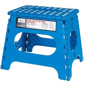 ihocon: Acko Non Slip Folding Step Stool - Holds up to 250 LBS折疊椅