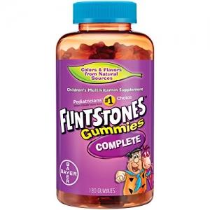 ihocon: Flintstones Children's Complete Multivitamin Gummies, 180 Count 兒童綜合維他命軟糖