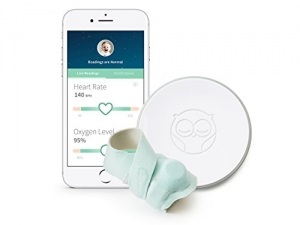 ihocon: Owlet Smart Sock 2 Baby Monitor - Track Your Infant's Heart Rate & Oxygen Levels智能嬰兒襪