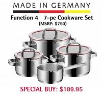 ihocon: Function 4 7-Piece Cookware Set