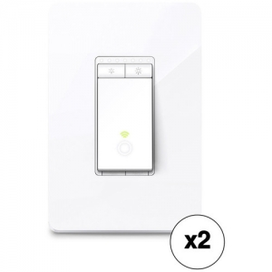 ihocon: TP-Link HS220 Smart Wi-Fi Light Switch with Dimmer (2-Pack) - 220智能-燈開關帶調光器(2件裝)