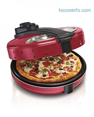 ihocon: Hamilton Beach 31700 Pizza Maker, 12 Inch Pizza Cooker披薩機
