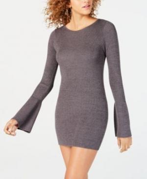 ihocon: Material Girl Juniors' Shine Bell-Sleeved Sweater Dress毛衣洋裝 - 4色可選