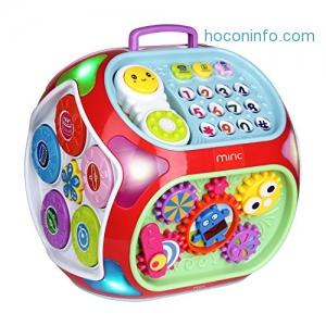 ihocon: Miric Baby 7 in 1 Electronic Baby Learning Educational Toys兒童益智學習玩具
