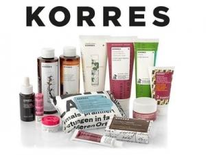 希臘國寶級護膚品KORRES: 30% off