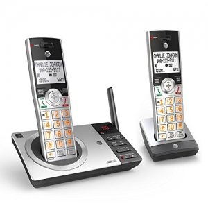 ihocon: AT&T CL82207 DECT 6.0 Expandable Cordless Phone with Answering System & Smart Call Blocker 無線電話(含留言系統和智能攔截功能, 可擴充)