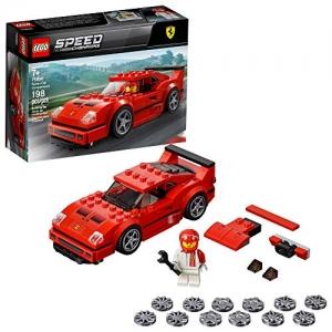 ihocon: LEGO樂高Speed Champions Ferrari F40 Competizione 75890 Building Kit (198 Piece) 速度冠軍法拉利F40積木