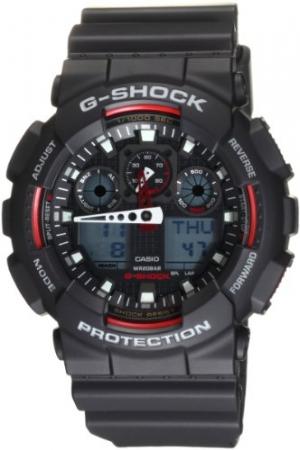 ihocon: Casio Men's GA100-1A4 G-Shock Sport Watch 卡西歐男錶
