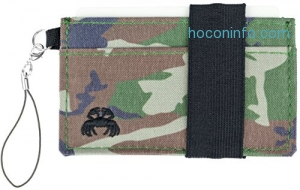 ihocon: Crabby Gear Thin Minimalist Front Pocket Crabby Wallet (Armyland)