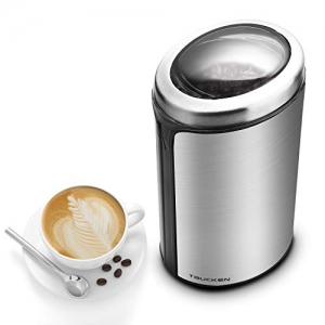 ihocon: Taucken Coffee Bean Grinder Stainless Steel 不銹鋼電動咖啡豆研磨機