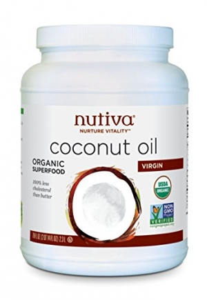 ihocon: Nutiva Organic, Cold-Pressed, Unrefined, Virgin Coconut Oil, 78-ounce 有機冷壓椰子油