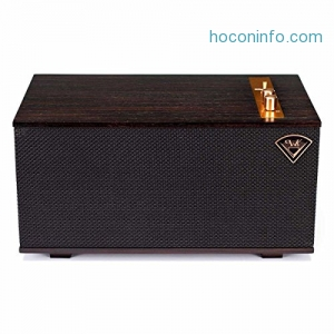 ihocon: Klipsch Heritage Wireless The Three Play-Fi Bluetooth Speaker, Ebony (Certified Refurbished)