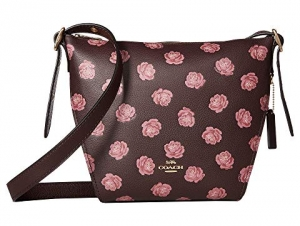 ihocon: COACH Whls Rose Print Small Dufflette 包包