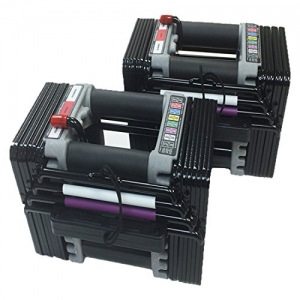 ihocon: Power Block Elite 50-pounds Dumbbell Set 啞鈴一組