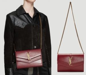 Saint Laurent YSL聖羅蘭包包 Sulpice Chain Wallet Bag $1,400(原價$1,750, 20% Off)