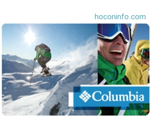 ihocon: $100 Columbia gift card只賣$87 - Via Email Delivery