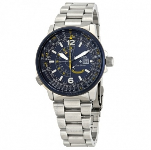 ihocon: CITIZEN Promaster Nighthawk Blue Dial Men's Watch Item No. BJ7006-56L光動能男錶