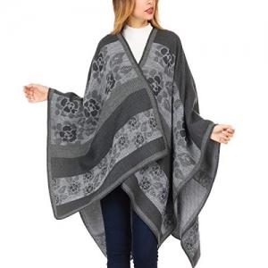 ihocon: DsFiyeng Cashmere Women Shawl Wrap 羊毛混紡女士披肩 - 多色可選