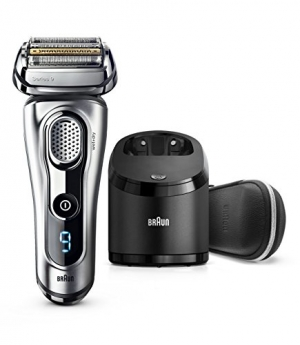 ihocon: Braun Series 9 9290cc Men's Wet/Dry Rechargeable Electric Foil Shaver with Clean & Charge Station 乾濕兩用刮鬍刀, 含清潔充電座