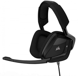 ihocon: CORSAIR Void PRO Surround Gaming Headset - Dolby 7.1 Surround Sound Headphones for PC - Works with Xbox One, PS4, Nintendo Switch, iOS and Android - Carbon   杜比環繞音響遊戲耳機